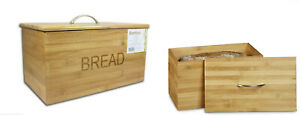 BAMBOO-ORIGINAL-WOOD-WOODEN-BREAD-BIN-STORAGE-BOX-WITH-LID-KITCHEN