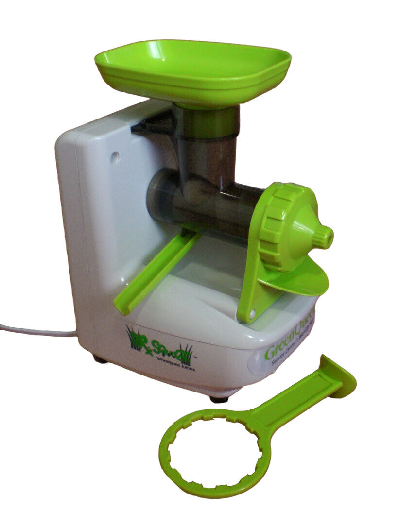 Electric Wheatgrass Juicer - Dr. Squeeze  Green Queen - Household Use