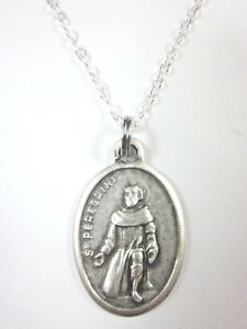 a5ea5112735 Image is loading St-Peregrine-Medal-Italy-Pendant-Necklace-20-034-