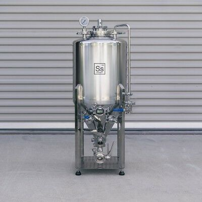Brite Tank Ss Brewing Technologies 10 Gallon Stainless Steel Beer Keg Homebrew