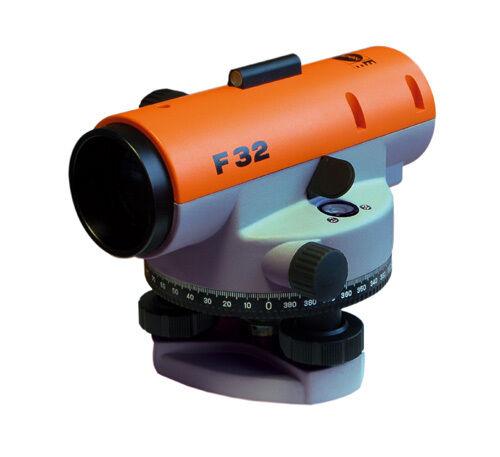 NEDO F32 Nivellier Nivelliergerät Nivellierer Nivellierer Nivellierer im Set mit Stativ + Messlatte c32f9e