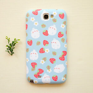 Cute-Molang-Phone-Hard-Back-Skin-Case-Cover-for-Smart-Phone-Strawberry-Pattern