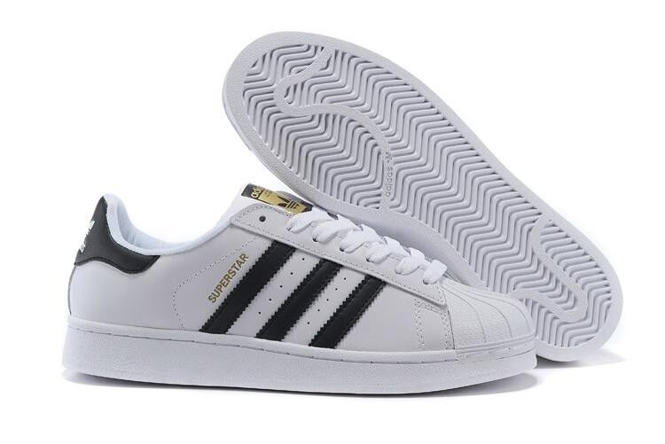 Adidas 'Originals' Superstar Trainers - White Black - C77124 - Size 7-13
