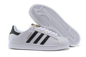 purchase cheap 35bcd a3700 La imagen se está cargando Adidas-039-Originals-039-Zapatillas-Superstar- Blanco-Negro-