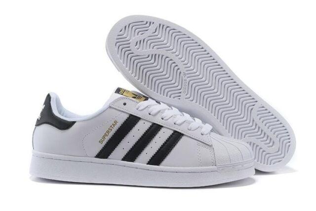 Adidas 'Originals' Zapatillas Superstar - Blanco / Negro -C77124-Talla 7-13