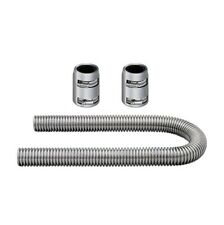 Mishimoto Radiator Hose Kit Chrome Aluminum Flexible UNIVERSAL 36""
