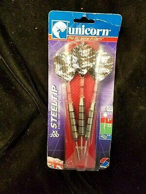 Vintage Unicorn Nickel Silver barrel Darts 22gram