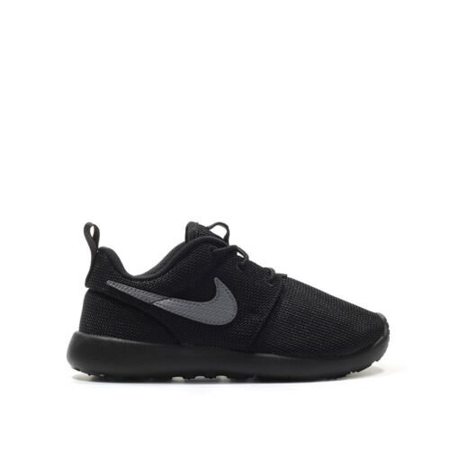 Pre School Sizes Nike Roshe One Black//Cool Grey Athletic Light Weight 749427 020