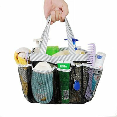 Mesh Shower Caddy Tote Large College Dorm Bathroom Organizer