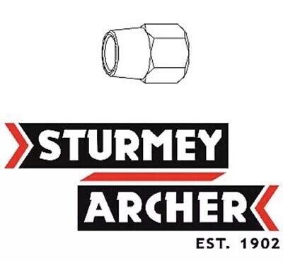 "A Raleigh Chopper  Sturmey Archer 3 Spd LHS axle nut 13//32/"" HMN388  /& /""R/"" logo"