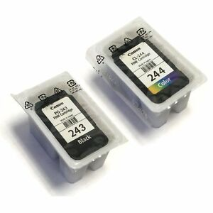 Canon PG 243 Black And CL 244 Color Ink Cartridge Kit