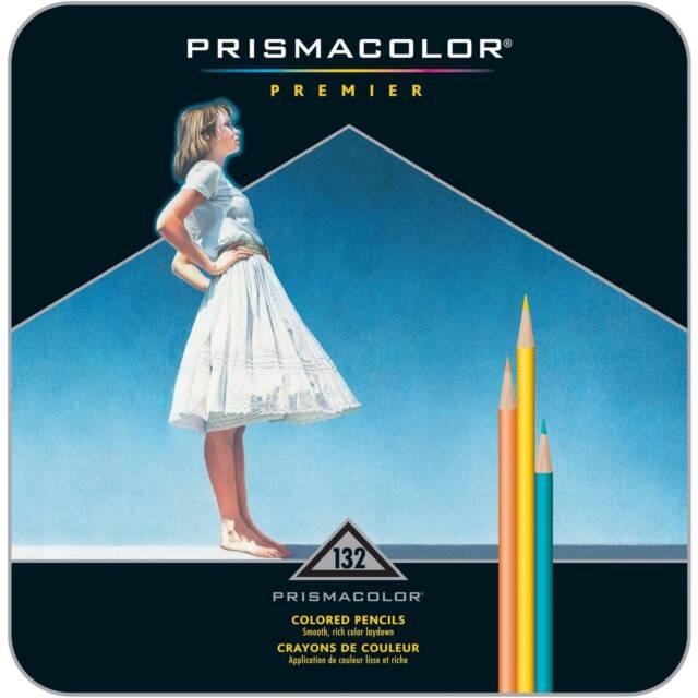 PRISMACOLOR 4484 PRISMACOLOR PREMIER COLORED PENCIL 132 COLOR TIN SET SANFORD