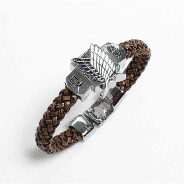 Attack on Titan Shingeki No Kyojin Cosplay Costume Bracelet Hand Strap Elegant