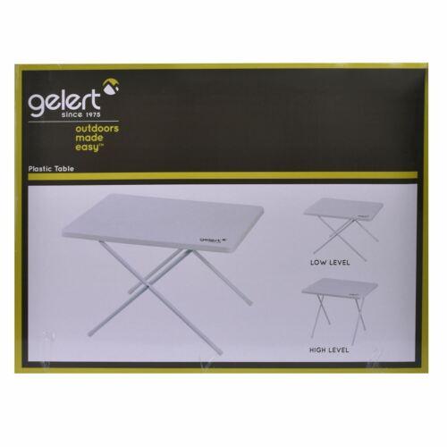 Gelert unisexe en plastique 2.9 Kg Table de camping tables Sport Compact