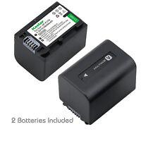 2x Kastar Battery For Sony Np-fv70 Dcr-sr15 Dcr-sr21 Dcr-sr68 Dcr-sr88 Dcr-sx15