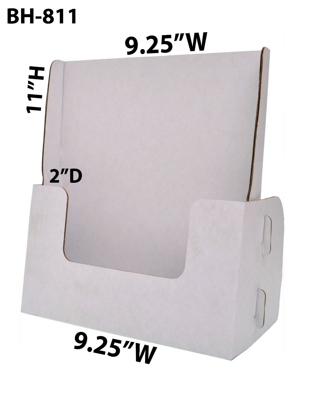 Cardboard Brochure Holder 9 1 4  x 11  Magazine Countertop Displays Lot of 100