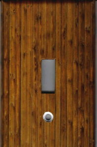 KNOTTY PINE WOOD IMAGE HOME WALL DECOR LIGHT SWITCH PLATE