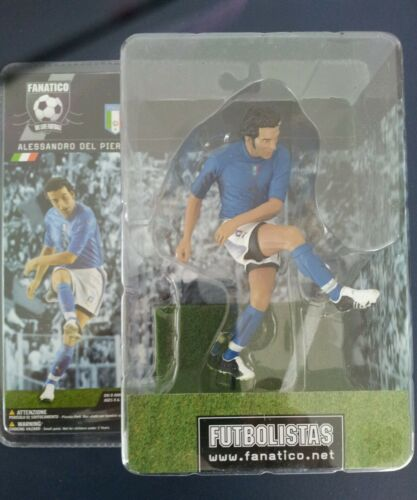 "Alessandro Del Piero figure 6/"" tall FANATICO FOOTBALL Soccer Figure Italy"