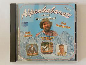 CD-Alpenkabarett-mit-Humor-amp-Musik-Folge-1-Rudi-Sturzeis-Steix-Karl-Baumgartner