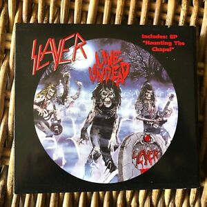 SLAYER-LIVE-UNDEAD-Haunting-The-Chapel-Metal-Blade-2004-digipack-cd-REMASTERED