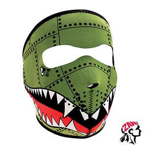 ZANheadgear® Neoprene Full Face Mask, Bomber, WNFM010 Face Protection Stretch