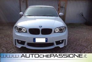 Kit-Paraurti-anteriore-ABS-1M-M1-BMW-Serie-1-E81-E82-E87-E88-dal-2004-gt-2011-M
