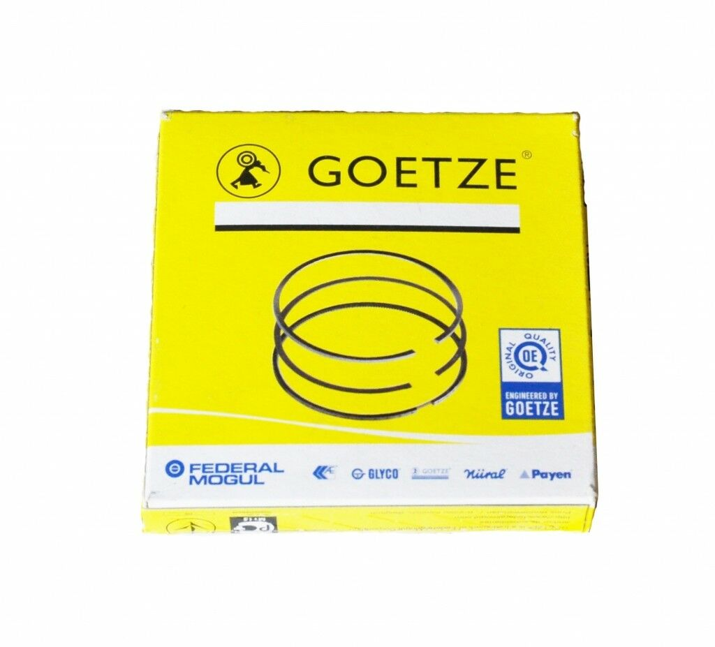 0850180000 4 x GOETZE ENGINE CYLINDER PISTON RINGS KIT FOR 1 CYL
