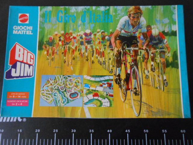 Board game Big Jim Giro D' Italia GIOCO TAVOLO MATTEL Rare Vintage New