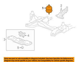 03 cadillac cts engine diagram cadillac gm oem 03 14 cts engine motor mount torque strut 22887775  cadillac gm oem 03 14 cts engine motor