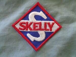 SKELLY-GASOLINE-OIL-UNIFORM-PATCH-NEW-VINTAGE-ORIGINAL-3-X-3-INCHES