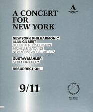 Concert for New York: Mahler - Symphony No. 2 (2011, Blu-ray NEUF) BLU-RAY