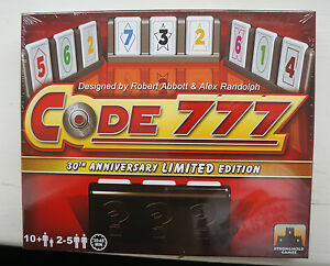 Code-777-Board-Game-30th-Anniversary-Limited-Edition