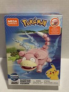 "Mega Construx Wonder Builders Pokemon 80 Pieces ""SLOWPOKE""GDW31 2019 Mega Brands"