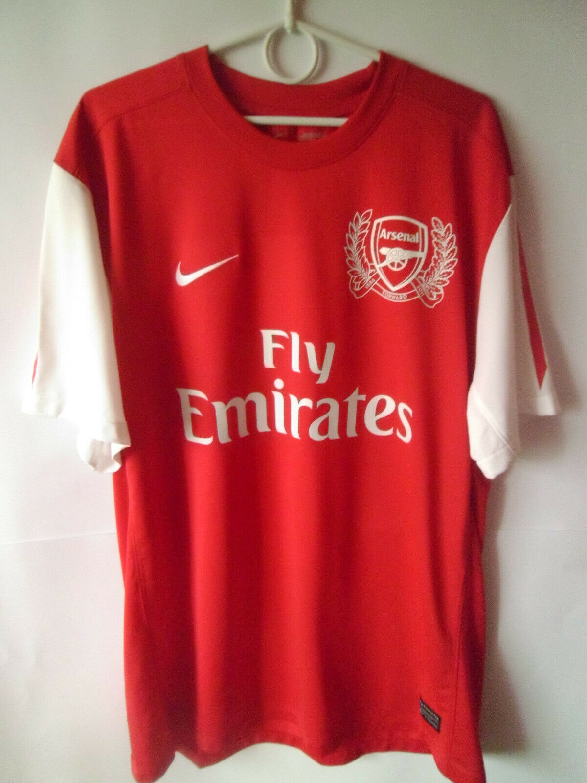 EXCELLENT     2011-12 Arsenal Away Shirt Jersey Trikot XL