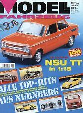 Zeitschrift Modell Fahrzeug 2 2000 Alfa Duetto Corvette 1961 Ford Capri Goldwing