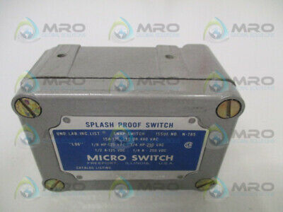 Flavor *used* Fragrant 100% True Microswitch Op-ar30 Splash Proof Switch as Pictured In