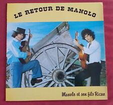 MANOLO ET SON FILS RICAO  LP ORIG FR  LE RETOUR DE MANOLO