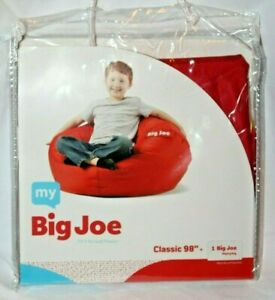 Sensational Details About My Big Joe Kids Classic 98 Red Bean Bag Chair Cover Onthecornerstone Fun Painted Chair Ideas Images Onthecornerstoneorg