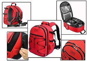 900fba5c18 Caricamento dell'immagine in corso Zaino-Reflex-Rosso-per-fotocamera-SLR-e- accessori-