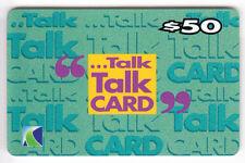 ASIE  TELECARTE / PHONECARD .. HONG KONG 50$ NWT TALK TALK CARD 90 DAYS