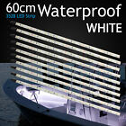 10pcs 60cm 3825 Led Strip White Lights Waterproof Boat Bar Camping Caravan 12V