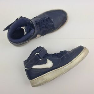 size 40 b70df 5f244 Image is loading Nike-Air-Force-1-Mid-039-07-Midnight-