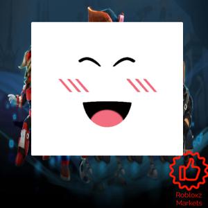 Roblox Super Super Happy Face Limited Ebay