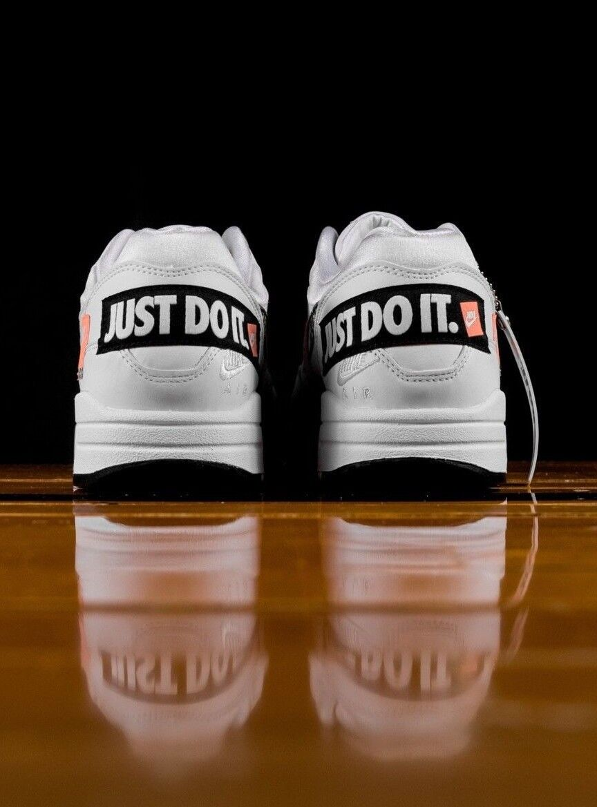 Nuevo 2018 Max 1 se Naranja Just Nike Air It Blanco Negro Naranja se Reino Unido Do 7-11 e90144