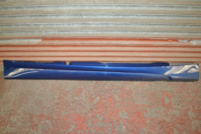 BMW 1 SERIES E87 M SPORT SIDE SKIRT SILL COVER IN LE-MANS BLUE O/S RIGHT SIDE