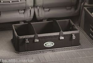 Land rover collapsible cargo carrier loadspace organizer for Land rover 2000 interior
