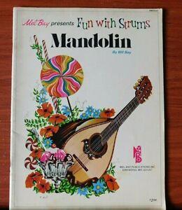 Mandoline Par Bill Bay-fun With Strums: Mel Bay 1975 Instruction-afficher Le Titre D'origine Soulager Le Rhumatisme Et Le Froid