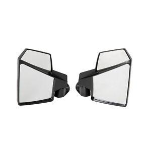 Kubota Universal UTV Break-Away Side and Center Mirror Shatter-Proof SET NEW