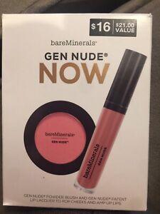 bareMinerals Gen Nude Powder Blush - On The Mauve oz
