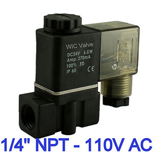 1-4-Inch-Normally-Closed-Air-Water-Zero-Pressure-Electric-Solenoid-Valve-110V-AC